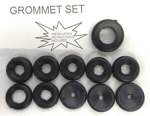 Jeep Willys Gpw Mb Cj2a Wwii 662276k Fire Wall Grommet Set Complete G503