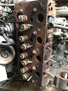 Case Skid Steer Cummins Iveco Engine Head Cylinder