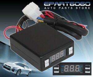 Universal Style Black Programmable Turbo Timer Controller Box For Any Car Truck