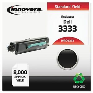 Innovera D3333 Remanufactured 330 8573 3333 Toner 8000 Yield Black
