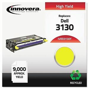 Innovera D3130y Remanufactured 330 1204 3130 Toner 9000 Yield Yellow
