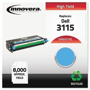 Innovera D3115c Remanufactured 310 8379 3115 Toner 8000 Yield Cyan