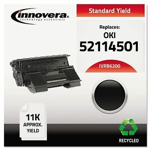 Innovera B6200 Remanufactured 52114501 b6200 Toner 11000 Page yield Black
