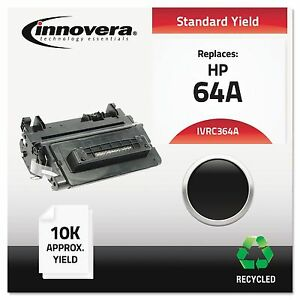 Innovera C364a Remanufactured Cc364a 64a Laser Toner 10000 Yield Black