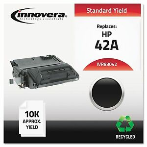 Innovera 83042 Remanufactured Q5942a 42a Laser Toner 10000 Yield Black