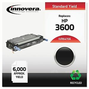 Innovera 6470a Remanufactured Q6470a 501a Laser Toner 6000 Yield Black