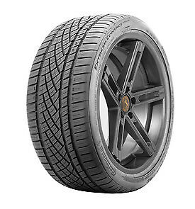 Continental Extremecontact Dws06 285 35r22xl 106w Bsw 4 Tires