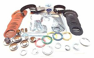 Ford 4r70w Aode Transmission Super Master High Performance Rebuild Kit 1996 2002