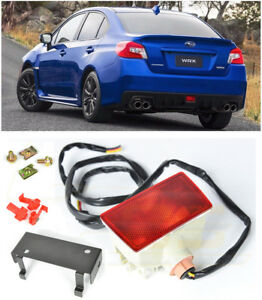 For 15 21 Subaru Wrx Sti Crystal Red Rear Fog Light Brake Lamp Mounting Bracket