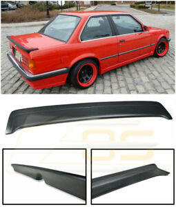 Mtech 1 Style Rear Trunk Lid Wing Spoiler Heckspoiler For 85 91 Bmw E30 3 series