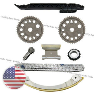 Gm Chevrolet 2 0l 2 2l Ecotec Timing Chain Kit Upgraded Tensioner Z22se