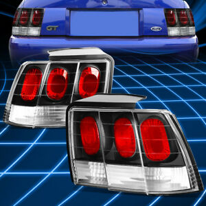 Black Clear Altezza Brake Signal Tail Light lamp For 1999 2004 Ford Mustang Gt