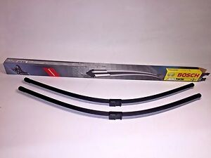 Mercedes benz Bosch Front Window Wiper Blade Set New S500 S430 S550 S600 S63