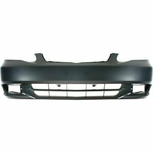 New Front Bumper Cover For Toyota Corolla 2003 2004 To1000241