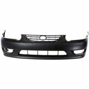 New Front Bumper Cover For Toyota Corolla 2001 2002 To1000217