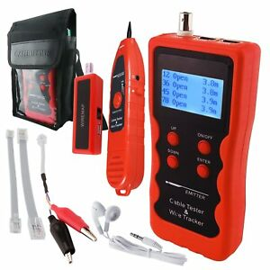 Cable Length Tester Tracker Phone Lan Bnc Finder Usb Rj11rj45 Wiretracer