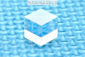 1pc Pbs Transparent 630nm 660nm Polarizing Beam Splitter Cubes 10x10mm