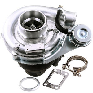 Universal T3 T4 T04e Hybrid Turbo Charger 2 5 Vband With Internal Wastegate