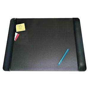 Artistic 4138 4 1 Executive Desk Pad With Leather like Side Panels 24 X 19