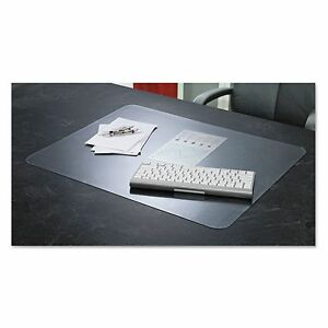 Artistic 60 8 0ms Krystalview Desk Pad With Microban Glossy 38 X 24 Clear
