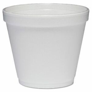 Dart 8sj12 Food Containers Foam 8oz White 1000 carton