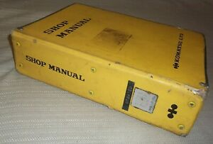 Komatsu D150a 1 D155a 1 Dozer Bulldozer Service Shop Repair Book Manual