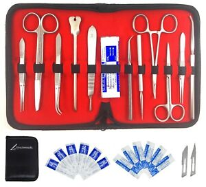 Deluxe Dissection Kit Pure Stainless Steel 23 Pcs Lab Kit With Bible Verse
