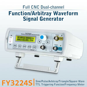 Fy3224s 24mhz Usb Dual channel Arbitrary Waveform Function Dds Signal Generator