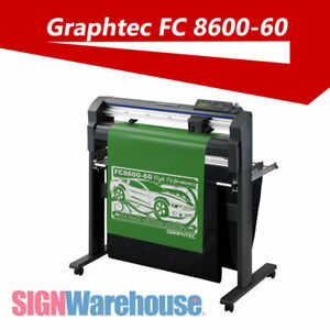 24 In Graphtec Fc8600 60 Vinyl Cutter Plotter Stand Decal Kit Bundle Machine