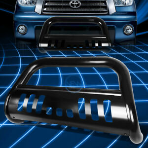 Black Ss Front Bumper Bull Bar Grille Guard For 2000 2007 Toyota Tundra sequoia