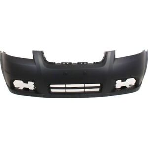 New Front Bumper Cover For Chevrolet Aveo 2007 2011 Gm1000833