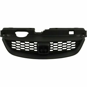 New Ho1200165 Grille With Emblem Provision For Honda Civic 2004 2005