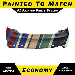 New Painted To Match Rear Bumper Cover For 2009 2010 Toyota Corolla Sedan S xrs