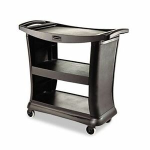 Rubbermaid 9t68 Executive Service Cart Gray