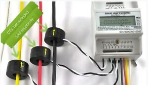 Smart Meter 1 Or 3 phase 120 To 480v 50 60hz Up To 5000 Amps