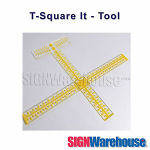 T square It This Tool By Signwarehouse Will Assist Your Vinyl Cutter Plotter