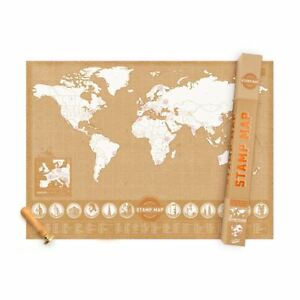 Luckies Us Stamp Map Record Your Travels In Classic Ink Stamps