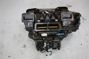 02 08 Bmw 745 750 760 Hvac A c Evaporator Heater Core Blower Motor Heater Box
