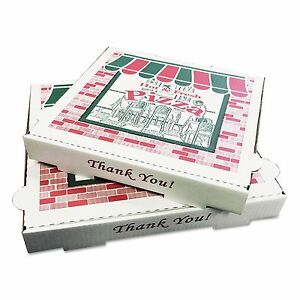 Pizza Box Pzcore12 Takeout Containers 12in Pizza White 12w X 12d X 1 3 4h