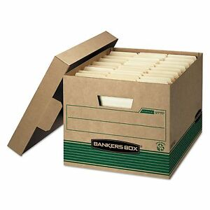 Bankers Box 12770 Stor file Extra Strength Storage Box Letter legal