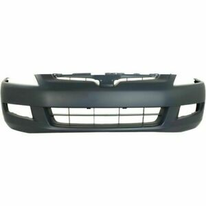 New Front Bumper Cover For Honda Accord 2003 2005