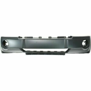 New Front Bumper Cover For Jeep Grand Cherokee 2005 2007
