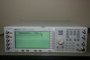Hp Agilent E4436b Signal Generator Opt Un8 Un9 Calibrated Warranty