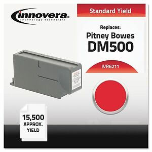Innovera 6211 Compatible With 621 1 Postage Meter 15500 Page yield Red