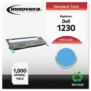 Innovera D1230c Remanufactured 330 3015 1230c Toner 1000 Yield Cyan