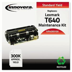 Innovera 40x0100 Remanufactured 40x0100 t640 Maintenance Kit 300000