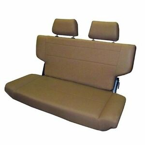 1966 1977 Early Ford Bronco Fold And Tumble Rear Bench Seat 40 Spice Nice New