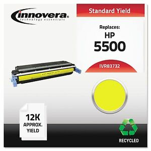 Innovera 83732 Remanufactured C9732a 645a Toner 12000 Yield Yellow