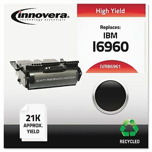 Innovera 86961 Remanufactured 75p6961 Laser Toner 21000 Page yield Black