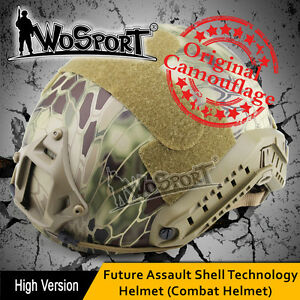 FMA Maritime Military Tactical Protective ABS MH Fast Helmet Airsoft Paintball